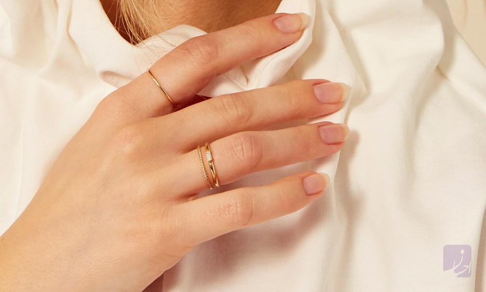 مخراجکاری انگشتر|طلا|طلا و جواهری احسان|فروش اقساطی طلا