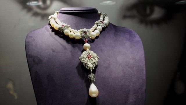 مشهورترین مروارید|طلا و جواهری احسان|فروش اقساطی طلا