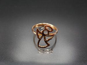انگشتر طلای کودک|طلا|طلافروشی اقساطی|طلا و جواهری احسان|فروش اقساطی طلا