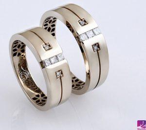 حلقه نامزدی ست|طلا|طلا و جواهری احسان|فروش اقساطی طلا