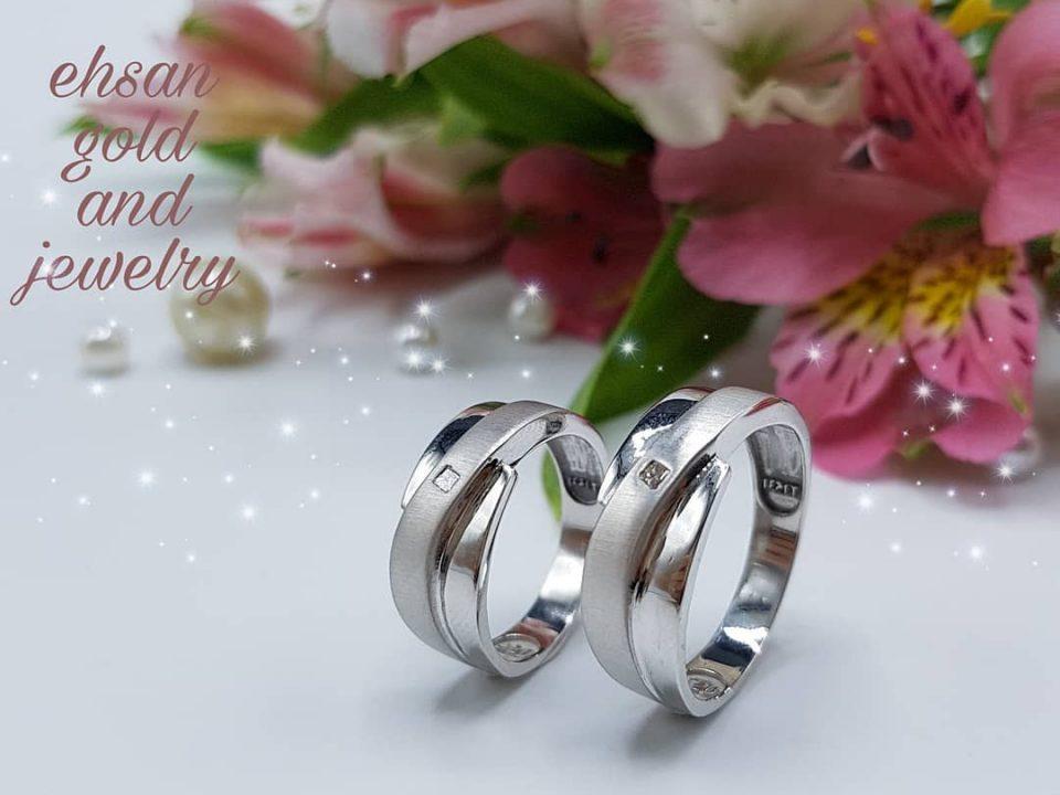 حلقه ست ازدواج|طلا|طلا و جواهری احسان|فروش اقساطی طلا