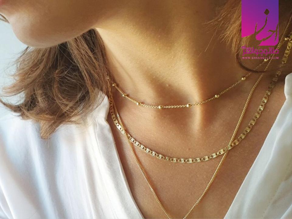 گردنبند |طلا|طلا و جواهری احسان|فروش اقساطی طلا