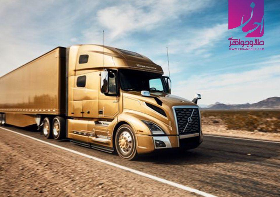 گران ترین کامیون | طلا و جواهر | طلای اقساطی | خرید طلا | گالری طلا احسان