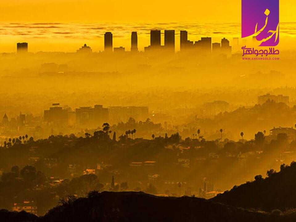 آلودگی هوا طلا طلا و جواهر احسان فروش اقساطی طلا