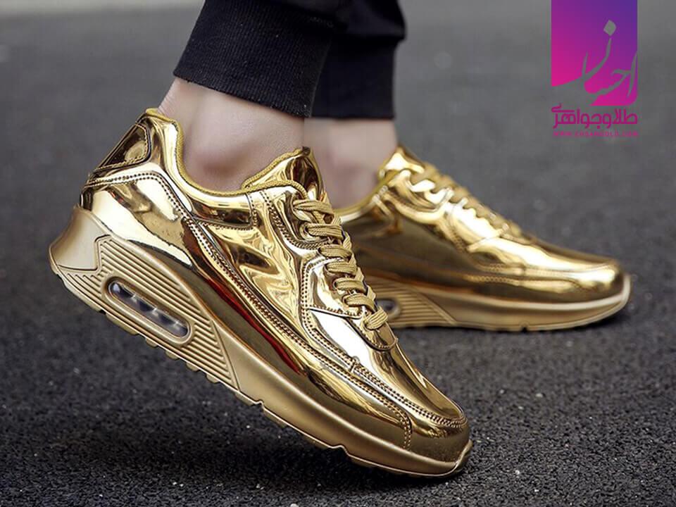 کفش طلا|طلا|طلا و جواهر احسان|فروش اقساطی طلا