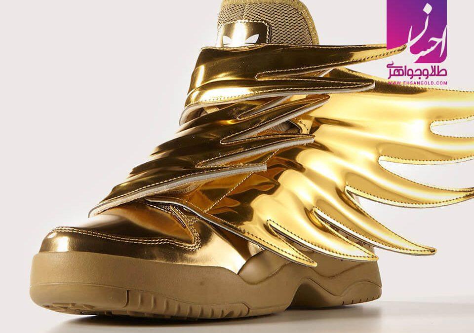 کفش آدیداس طلا طلا طلا و جواهر احسان فروش اقساطی طلا