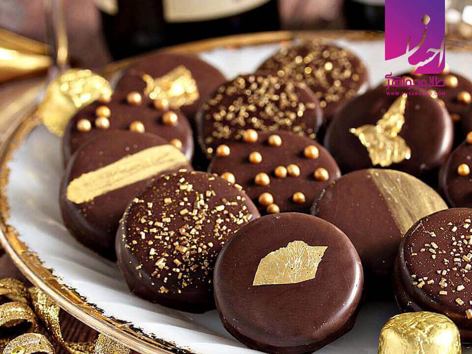 شکلات طلا |طلا|طلا و جواهر احسان|فروش اقساطی طلا