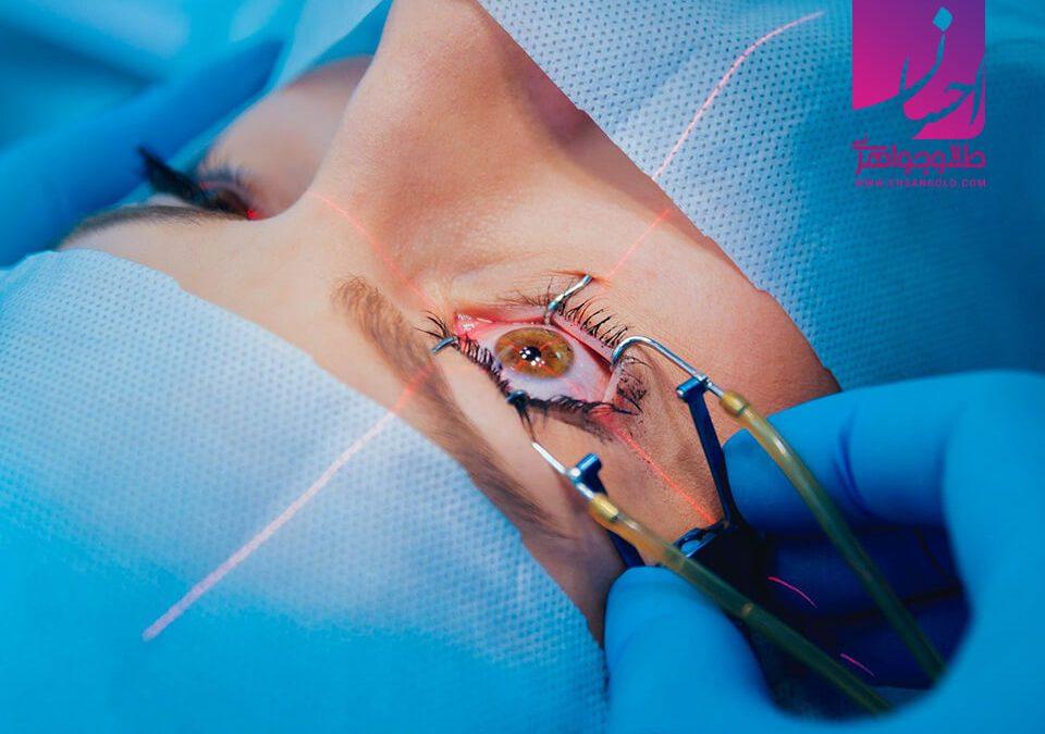 لیزر درمانی با استفاده از طلا  طلا طلا و جواهر احسان فروش اقساطی طلا