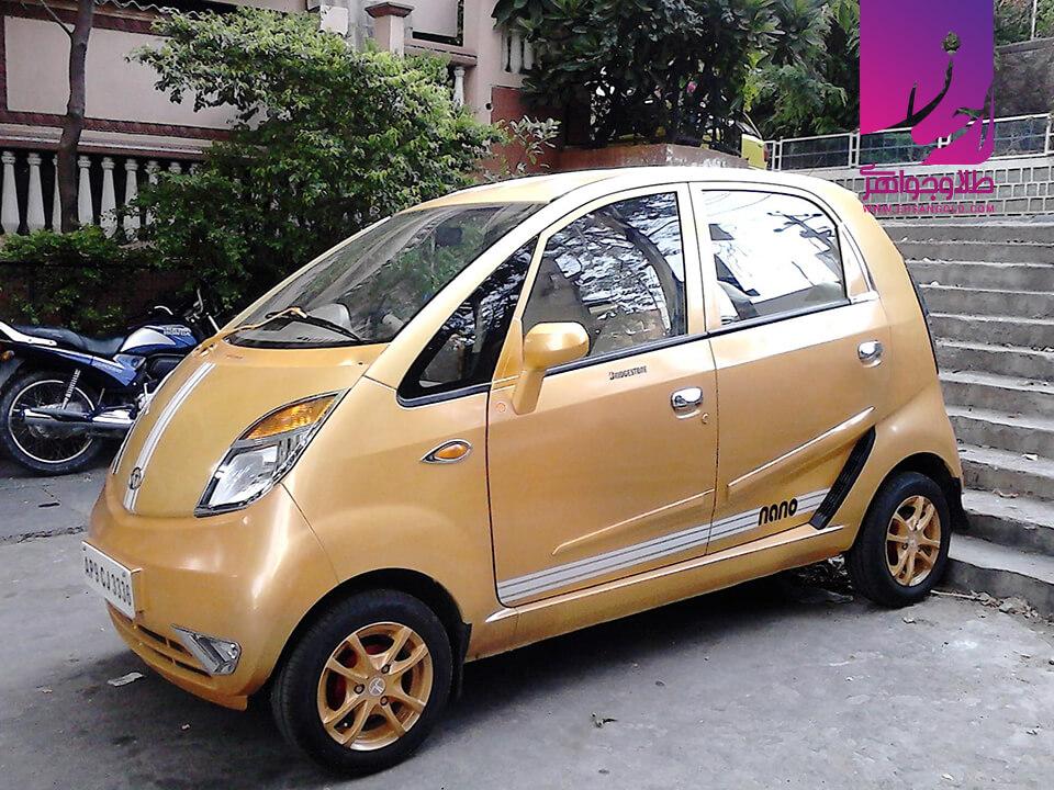 کوچک ترین ماشین جهان |طلا|طلا و جواهر احسان|فروش اقساطی طلا
