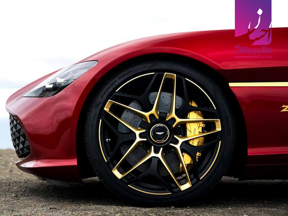 استفاده از طلا در خودرو|طلا|طلا و جواهر احسان|فروش اقساطی طلا