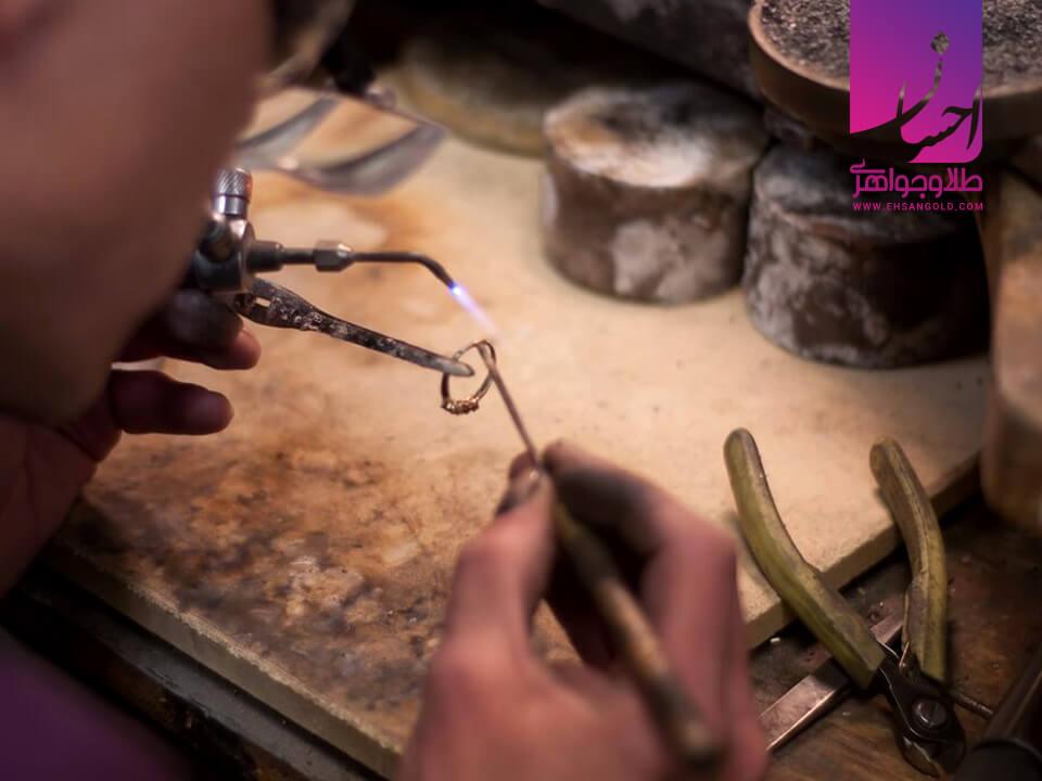 ابزار جواهرسازی |طلا|طلا و جواهر احسان|فروش اقساطی طلا