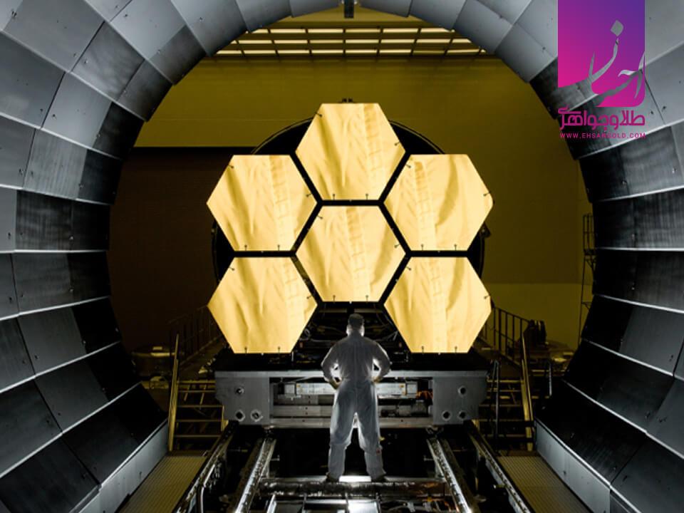 کاربرد طلا در صنایع فضایی |طلا و جواهر احسان|فروش اقساطی طلا