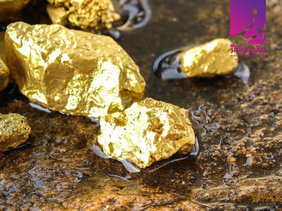 کشورهای تولید کننده طلا |طلا و جواهر احسان|فروش اقساطی طلا