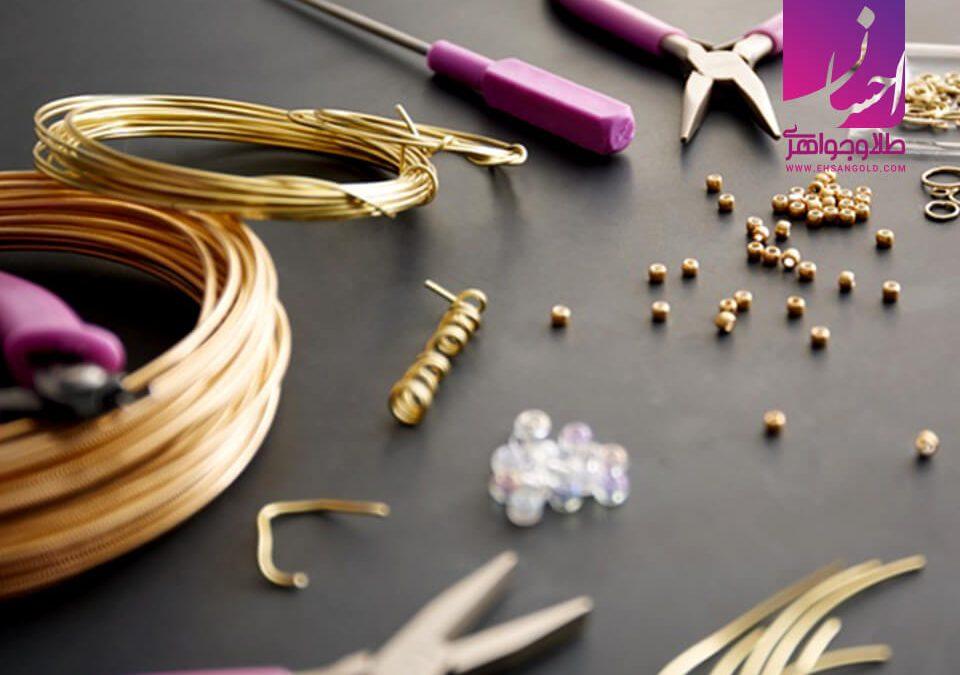 جواهرسازی در منزل |طلا|طلا و جواهر احسان|فروش اقساطی طلا