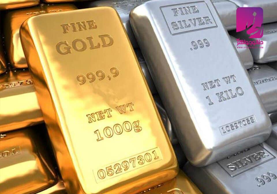 تفاوت طلا و نقره | طلا | طلا و جواهر احسان | فروش اقساطی طلاگوشواره طلا مروارید |طلا|طلا و جواهر احسان|فروش اقساطی طلا