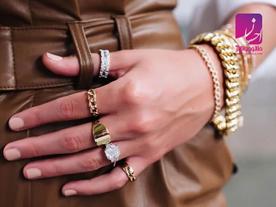 جدیدترین مدل طلا و جواهرات |طلا|طلا و جواهر احسان|فروش اقساطی طلا